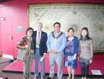 Parramatta Lord Mayor John Chedid opens Chinese Australian exhibition (from left) Mimi Kwok, Jack Brook, Lord Mayor John Chedid, Daphne Lowe Kelley and Louisa Cheung.