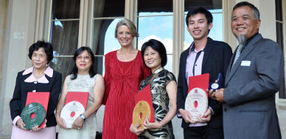 Winners of the 2011 NSW Premier's Chinese Community Service Awards